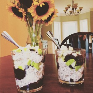 Blueberry Oat Parfait